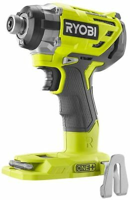 "New Ryobi P238 18-Volt ONE+ 1/4"" Brushless 3 Speed Impact Driver Tool Only"