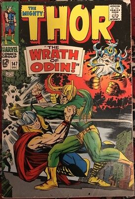 The Mighty Thor #147 - The Wrath Of Odin
