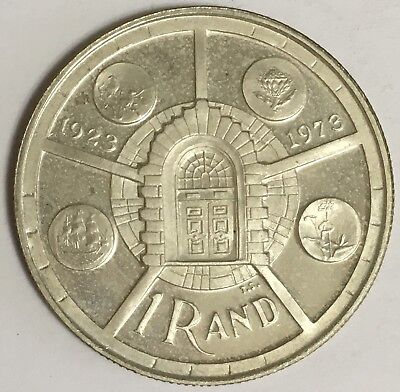 1974 South Africa 1 Rand Silver Coin PROOF ~ LOW MINTAGE ~ ONLY 15,000 (L548)