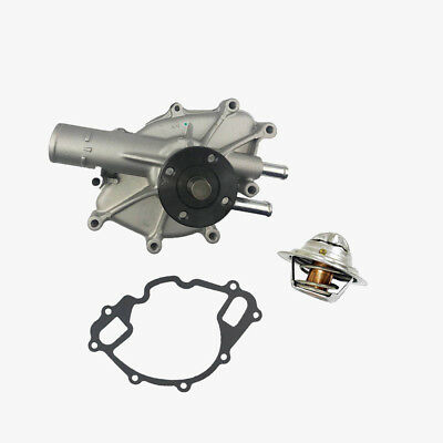 Water Pump + Thermostat Kit Ford F150 F250 F350 Bronco Econoline E150 E250 E350