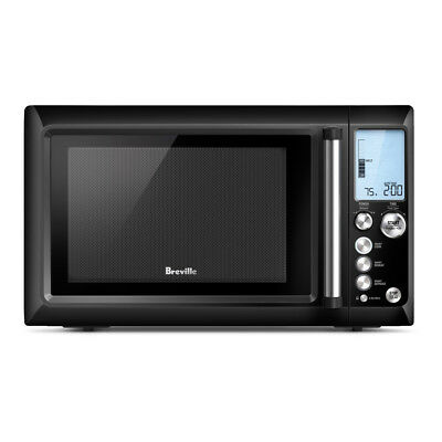 Breville The Quick Touch 34L Black Microwave Oven BMO634BS