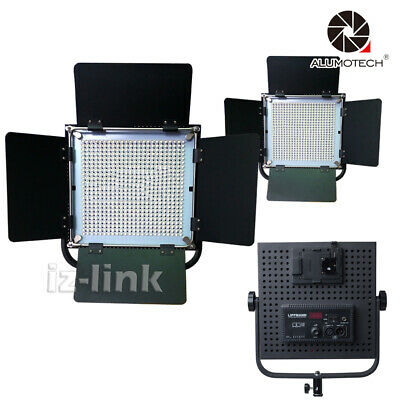 High CRI 576LED Dimmable 3200 and 5600K  Lithium Light For Studio Camera Video