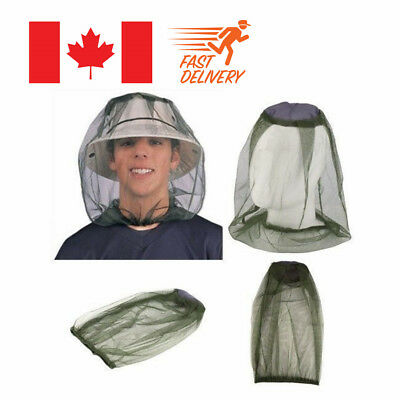 Mosquito Hat Net Head Protector Bee Bug Mesh Insect Mozzie Fishing