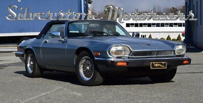 Jaguar XJS  1990 Metallic Blue Convertible Low Miles Leather Interior Elegant Driver