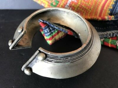Old African Local Silver Bracelet …beautiful accent piece