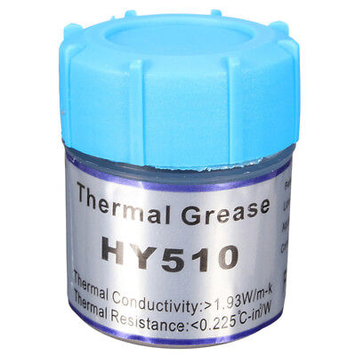 HY510 10g Grey Thermal Conductive Grease Paste For CPU GPU Chipset Cooling U9X6
