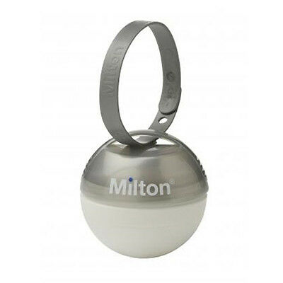 LIMITED EDITION! Milton Mini Soother/Pacifier/Dummy Steriliser - Silver Grey