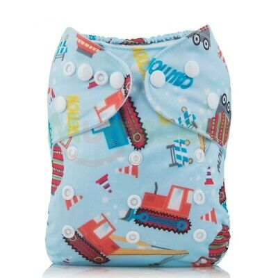 Mumsbest Eco Friendly Baby One Size Adjustable Cloth Diapers Cover Reusable