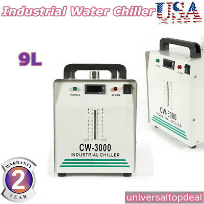 110V 60Hz CW-3000 Industrial Water Chiller for One 60w/80W CO2 Laser Tube