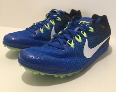 new style 9c91b 85ea1 Nike Zoom Rival D9 Mens Spikes Track Field Racing 806556-413 Size 8