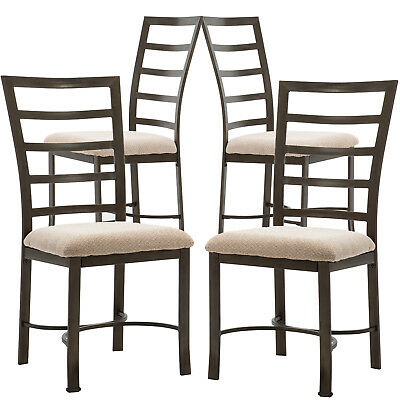 Set of 2 or 4 Dining Chairs, Kitchen Room Breakfast Wooden Furniture Dining Set
