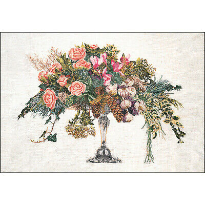 "Thea Gouverneur Winter On Aida Counted Cross Stitch Kit-23.5""X19.5"" 16 Count"