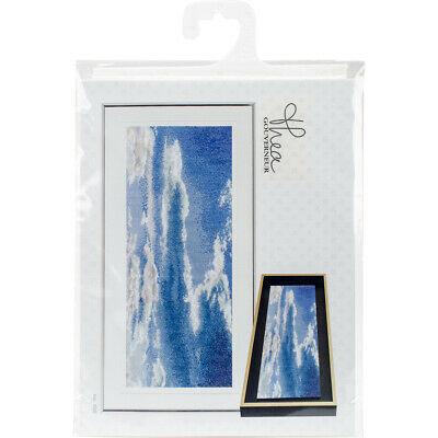 "Thea Gouverneur Sky Study V On Aida Counted Cross Stitch Kit-5.75""X13.75"" 18 Cou"