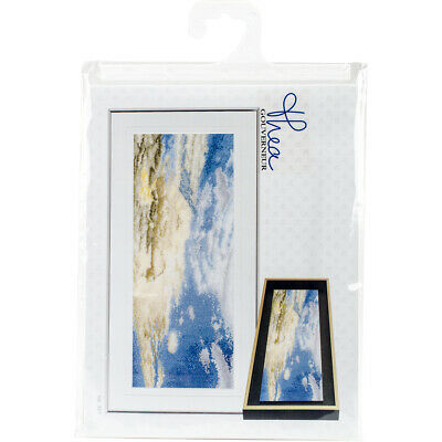 "Thea Gouverneur Sky Study I On Aida Counted Cross Stitch Kit-5.75""X13.75"" 18 Cou"
