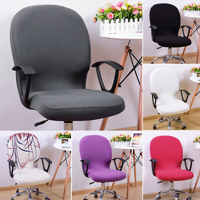 6 Color Elastic Computer Office Rotating Chair Cover Stretch Slipcover Protector