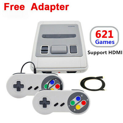 Proatble Retro Classic Family TV HDMI Video Game Consoles Built-in 621 Games
