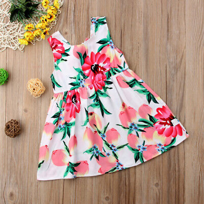 Flower Girl Princess Dress Baby Party Wedding Pageant Formal Dresses Clothes