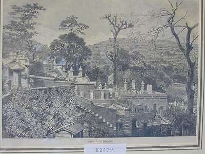 82479-Asien-Asia-Japan-Nippon-Nihon-Nagasaki-Leichenacker-TH-Wood engraving