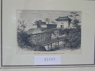 82483-Asien-Asia-Japan-Nippon-Nihon-Mikado-Yedo-Palast-TH-Wood engraving