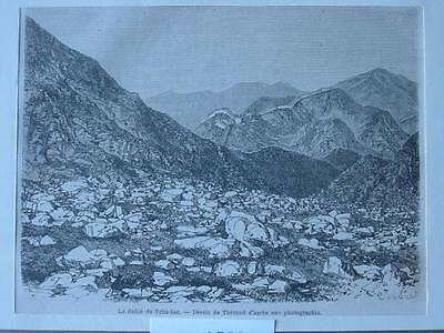 87556-Asien-Asia-China-Tcha-tao-T Holzstich-Wood engraving