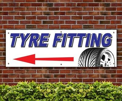 Tyre-Fitting-Left-Arrow-Direction-PVC-Banner-Printing-Garage-Signs-BANPN00239