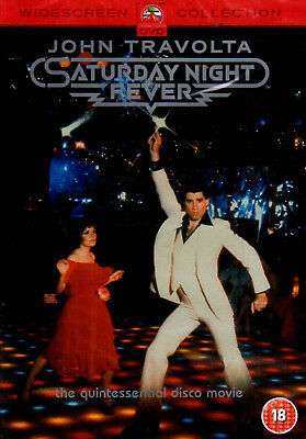 SATURDAY NIGHT FEVER DVD John Travolta Karen Lynn Gorney Original UK Rele New R2