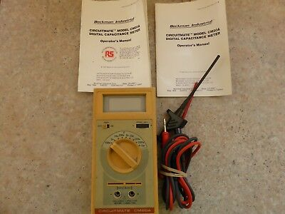 CM20A Capacitance multimeter, with leads