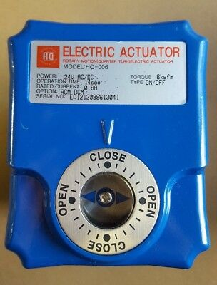 Challenger HQ Electric Valve Actuator 24V AC/DC HQ-006 HQ006 **NEW IN BOX**
