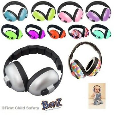 Boy Girl Banz Baby Childrens Earmuffs Ear Defenders 3 Months+ Autistic Bonfire