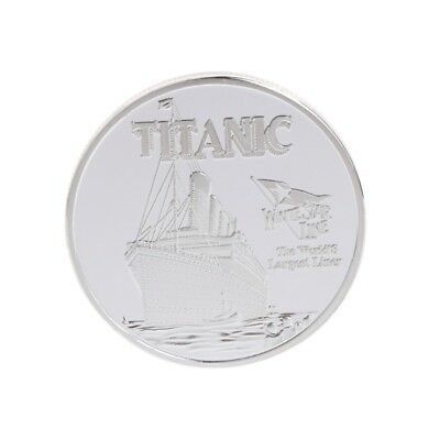 Silver Titanic Ship Incident Collection Commemorative Coin Souvenirs Gifts Hot