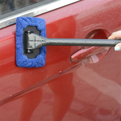 Glass Wiper Window Car Windshield Mirror Floor Cleaner Tool Removable Handle IT1