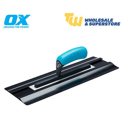"OX Tools 14"" 16"" 18"" 20"" SemiFLEX Flexible Plastic Plastering Finishing Trowels"