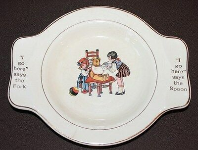 Vintage Childs Plate By International Silver Co