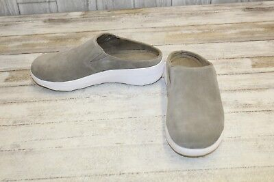 4f9d55287 FITFLOP LOAFF SUEDE Clogs - Women s Size 8
