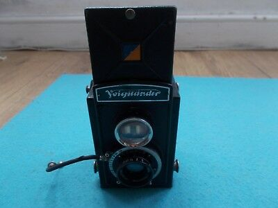 Voigtlander TLR 120 Camera with case & remote shutter release