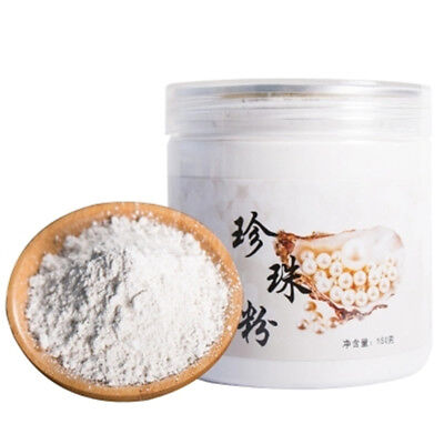 150G 100% Pure natural Freshwater edible super fine Pearl Powder face mask