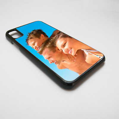 PERSONALISED iPhone X Plastic Cover Case CUSTOM PRINTED with photo picture