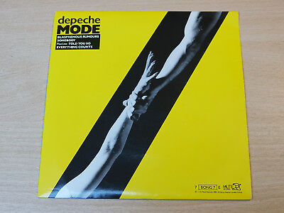 "EX-/EX !! Depeche Mode/Blasphemous Rumours/1984 Mute 7"" Single"