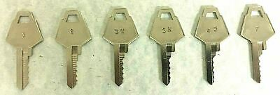 XL Locks Letterbox Space & Depth Keys Key Blank Blanks Locksmith Codes