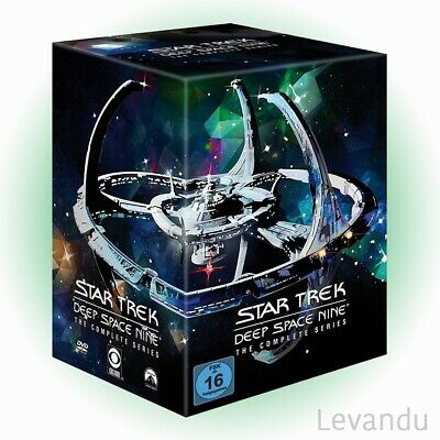 DVD-Box STAR TREK DEEP SPACE NINE - DIE KOMPLETTE SERIE (Staffel 1-7) - 48 DVD's