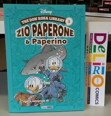 THE DON ROSA LIBRARY:ZIO PAPERONE E PAPERINO VOL.5 Ed. PANINI COMICS SCONTO 10%