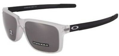 384bd9c1e5 Oakley Holbrook MIX Prizm Lens With Matte Clear Frame Sunglasses OO9384-0557  New