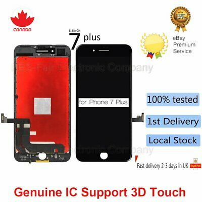 "For iPhone 7 Plus 5.5"" 3D Touch Screen LCD Digitizer Assembly Replacement Black"