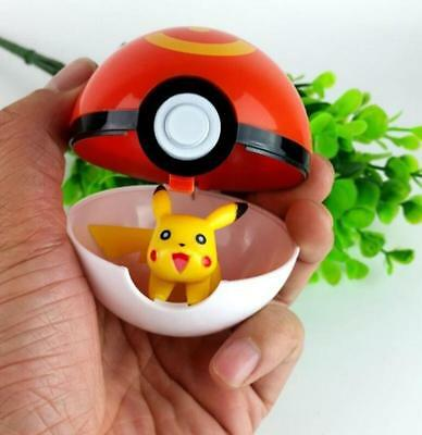 7cm ABS Pokemon Pokeball Cosplay Pop-up Poke Ball Fun Toys Gift Kid Children #42