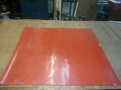 """SILICONE RUBBER SHEET 1/32 THK X 36""""WIDE x36"""" LONG FREE SHIPPING"""