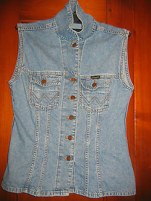Original WRANGLER Authentic Western Jeansweste