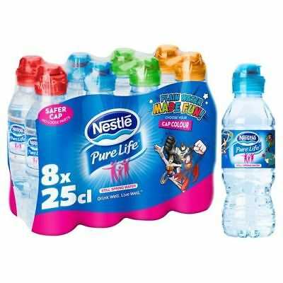 NESTLE PURE LIFE Kids Still Water 8 x 250ml (Pack of 4) - £24 39