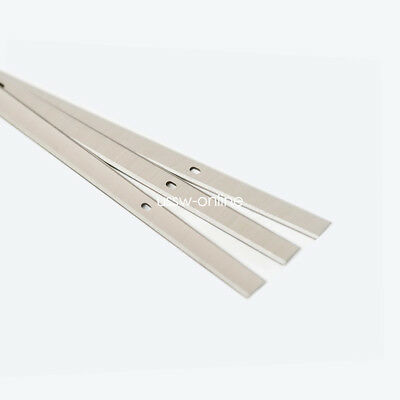 """13"""" Inch HSS Planer Knive Blade for WEN 6552 Replacement 3-Blade Set of 3"""