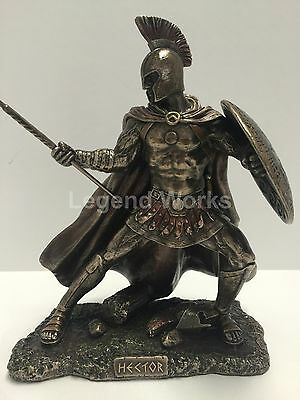 Hector Trojan prince in the Trojan War bronze finish figure home decor new hot