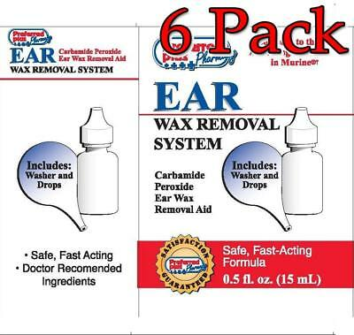 Preferred Plus Ear Wax Removal System, 0.5oz, 6 Pack 027510010527A180